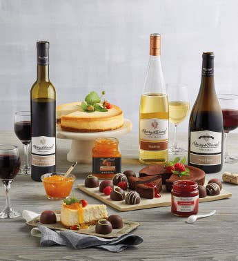 Deluxe Dessert Pairing - Three Bottles