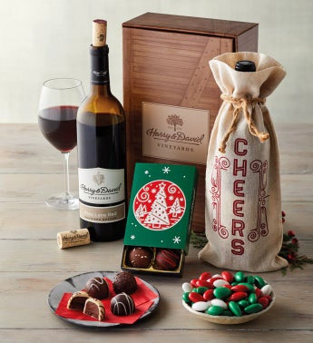 Holiday Cheer Wine Gift