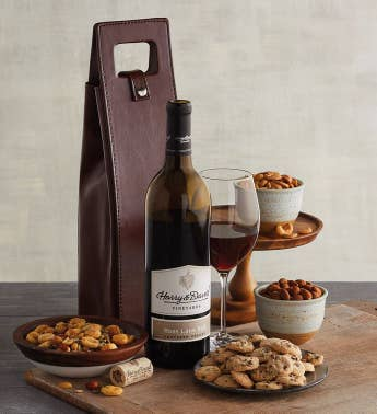 Summer Connoisseur Wine Tote