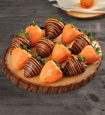 Pumpkin Patchtrade Dipped Strawberries