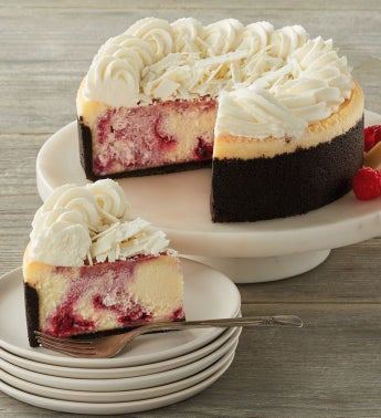 The Cheesecake Factory174 White Chocolate Raspberry Truffle174 Cheesecake - 734