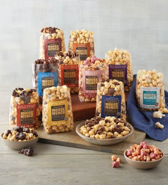 Moose Munch174 Premium Popcorn Discovery Box Subscription