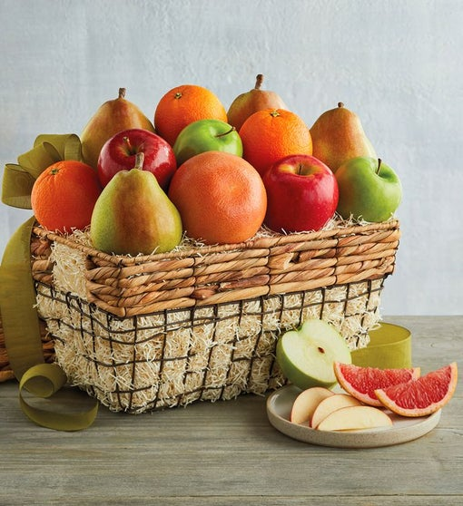 Organic Fruit Gift Basket