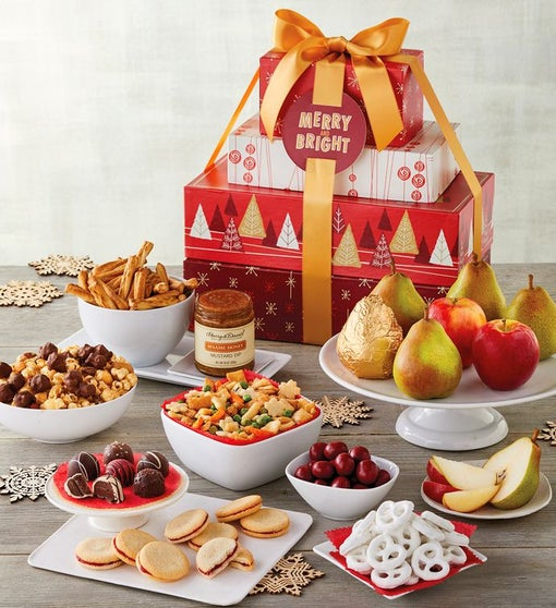 Deluxe Holiday David's Gift Tower