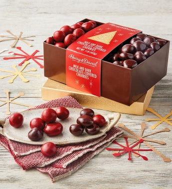 Holiday Chocolate-Covered Cherries