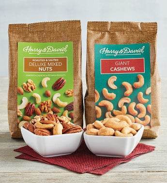 Pick Two Gourmet Nut Selections