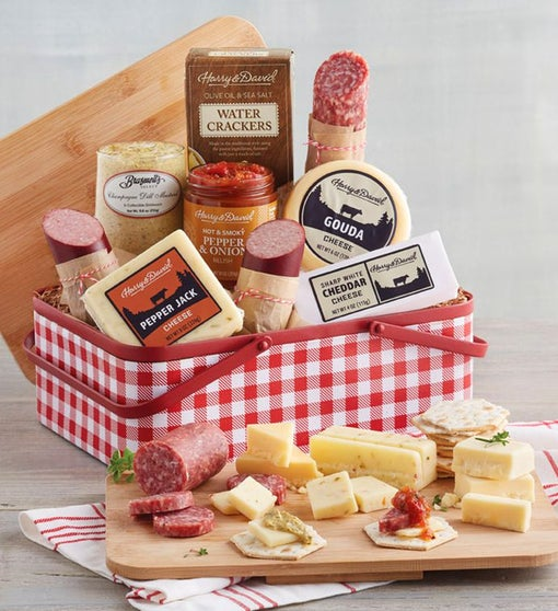 Meat and Cheese Picnic Tin