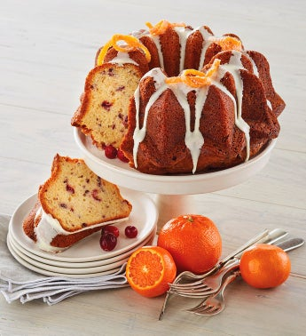 Wolferman39s174 Cranberry Orange Bundt Cake