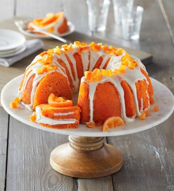 Orange Cream Bundt Cake