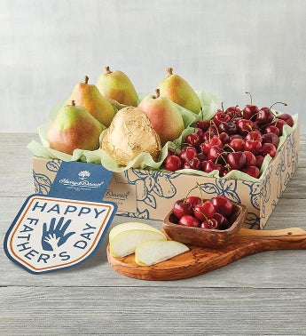 Father39s Day Pears and Cherries Fruit Gift