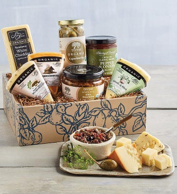 Organic Cheese and Appetizer Collection