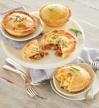 Pork and Chicken Mini Pot Pies