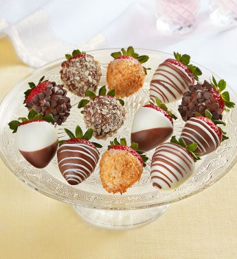 Deluxe Chocolate-Covered Strawberries 8211 12 Count