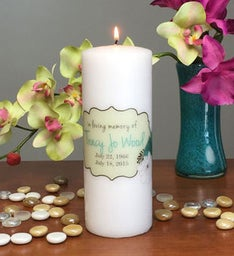 In Memory of Memorial Candle