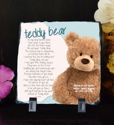 Teddy Bear Small Plaque