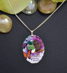 Butterflies Memorial Pendant