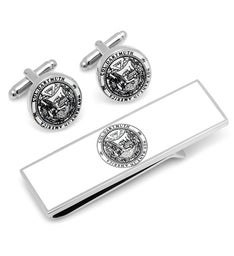 Dartmouth College Cufflinks and Money Clip Gift Set