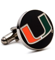 Miami Hurricanes Cufflinks