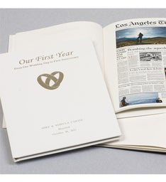 LA Times Our First Year Keepsake Book