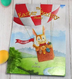 Personalized The Easter Bunny Story Hardback Book