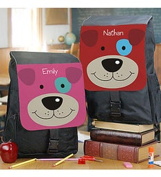 Personalized Puppy Backpack