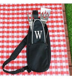 Embroidered BBQ Sling Tote
