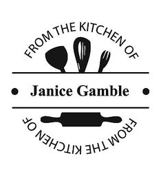 The Gamble Kitchen Self-Inking Stamp