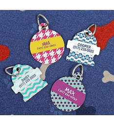 Personalized Wacky Pet Tag