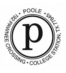 The Big Poole Initial Self-Inking Return Address Stamp