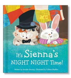 Its My NIGHT NIGHT Time Personalized Storybook
