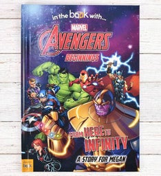 Personalized Avengers Beginnings Storybook