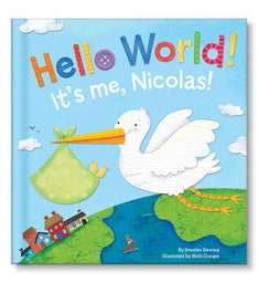 Hello World Personalized Storybook