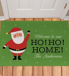 Ho Ho Home Doormat