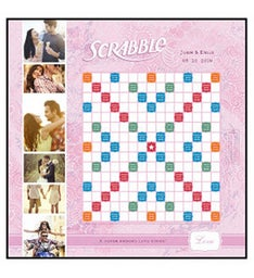 Love Rules Custom Scrabble Game