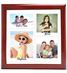 Personalized Snapshots Keepsake Box