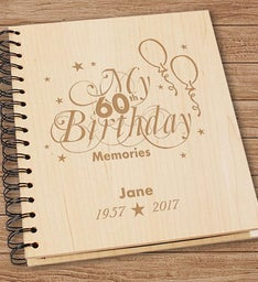 60th Birthday Memories Personalized Photo Album