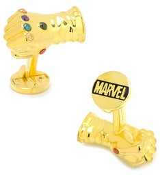 3D Thanos Infinity Gauntlet Cufflinks