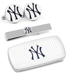 New York Yankees Pinstripe 3-Piece Cushion Set