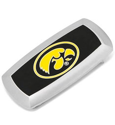 University of Iowa Hawkeyes Cushion Money Clip