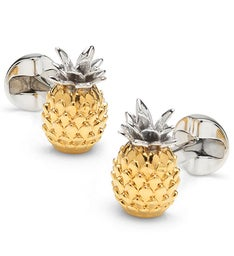 Pineapple 3D Cufflinks