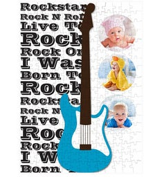 Personalized Rockstar 252 Piece Photo Puzzle