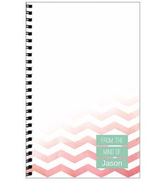 Personalized Watercolor Journal