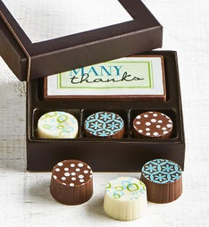 Simply Chocolate Thank You Bar  Truffles 4 pc