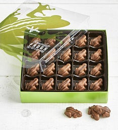 V Chocolate Milk & Dark Chocolate Frogs 40pc Box