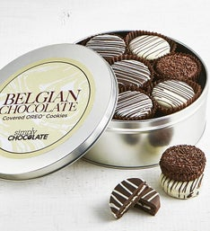 Simply Chocolate Belgian Chocolate OREO Tin