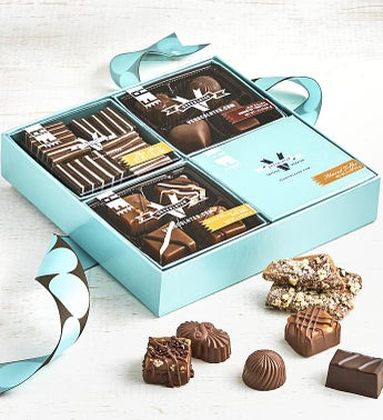 V Chocolate Sampler Gift Box