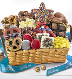 Simply Chocolate Celebrate Summer Gift Basket