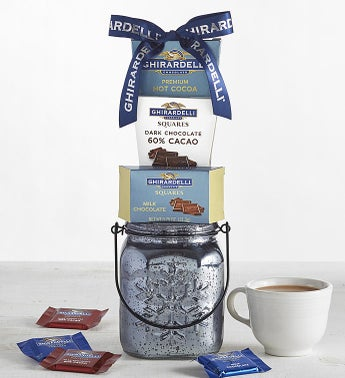 Ghirardelli Sweets Mercury Glass Gift
