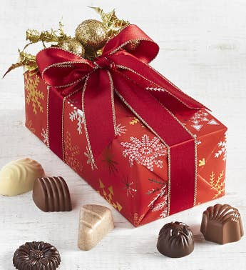 Jelina Christmas Cheer Belgian Chocolate Gift Box
