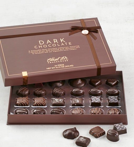 Ethel M Milk & Dark Sea Salt Caramels  24pc
